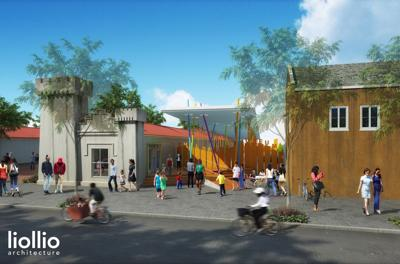 Children's Museum of the Lowcountry Play Pavilion Rendering