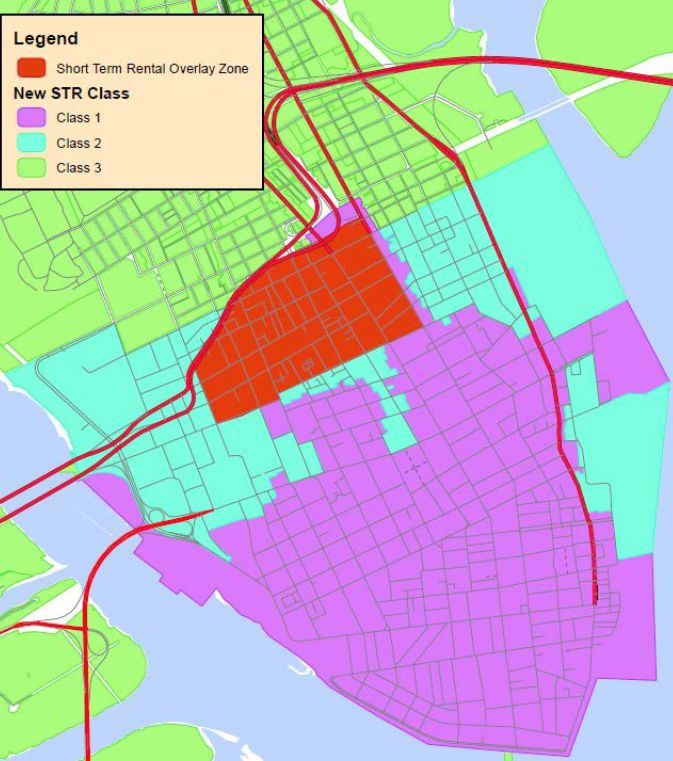 What Charleston's Proposed Short-term Rental Rules Would