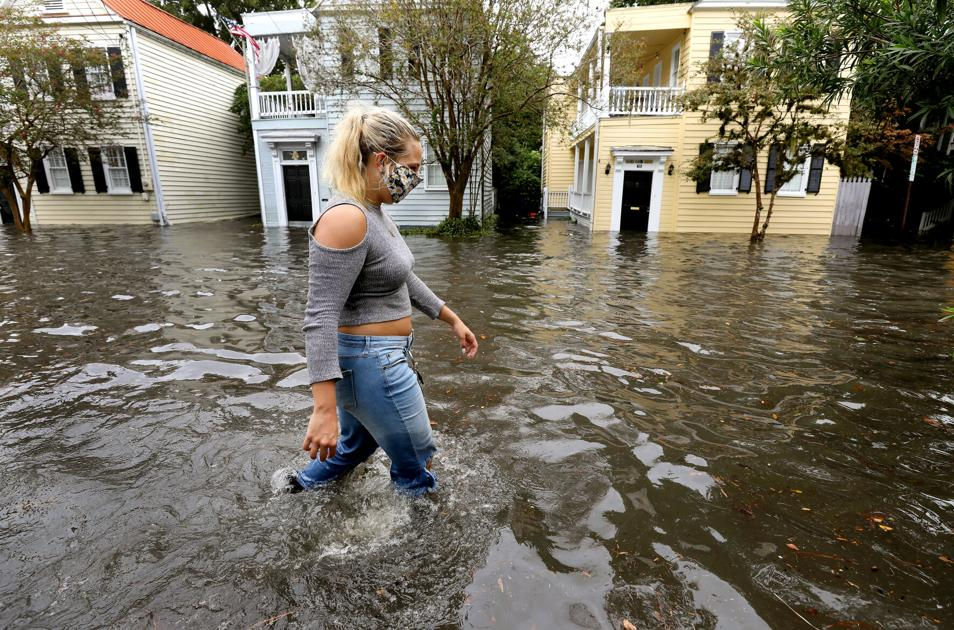 Fierce rainstorm strikes Charleston, a reminder of how climate change has amped up weather - Charleston Post Courier
