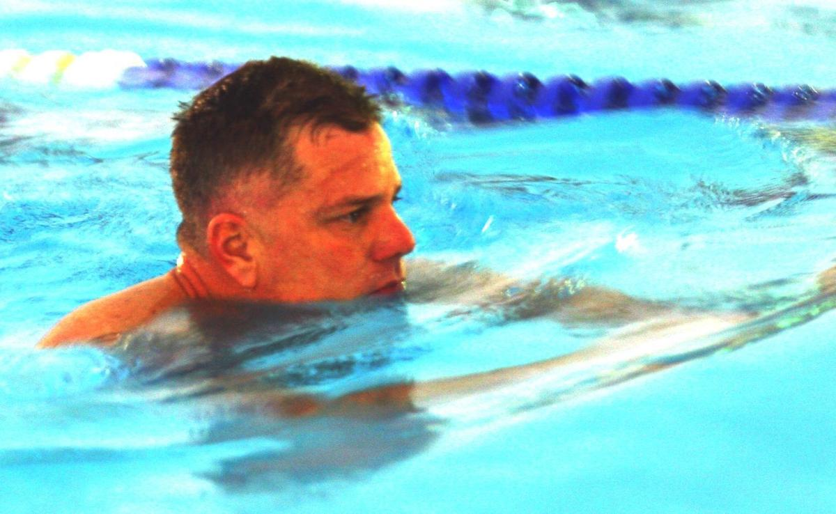 Coast Guard officer to swim 24 hours straight