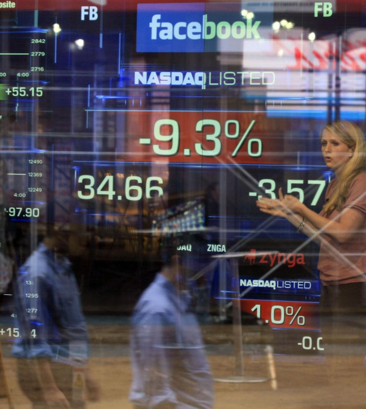 Where are Facebook's friends? Stock slide deepens