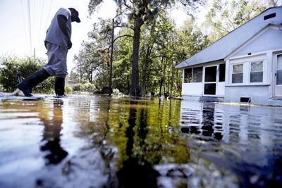 CORRECTION Hurricane Matthew South Carolina