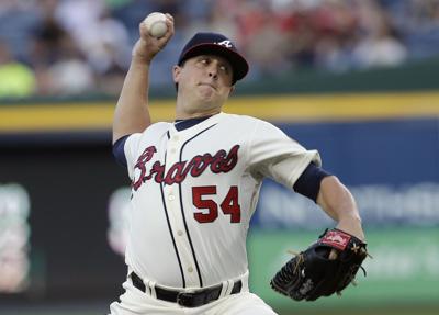 Braves top Padres; magic number at 4