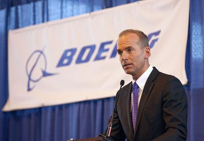 Boeing's new chief: From summer intern to corner office