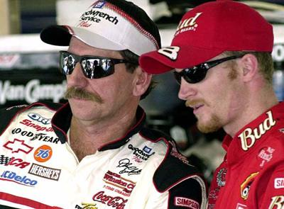 Stuck in his shadow: Earnhardt Jr. can't escape the pressure even 10-years after dad's death