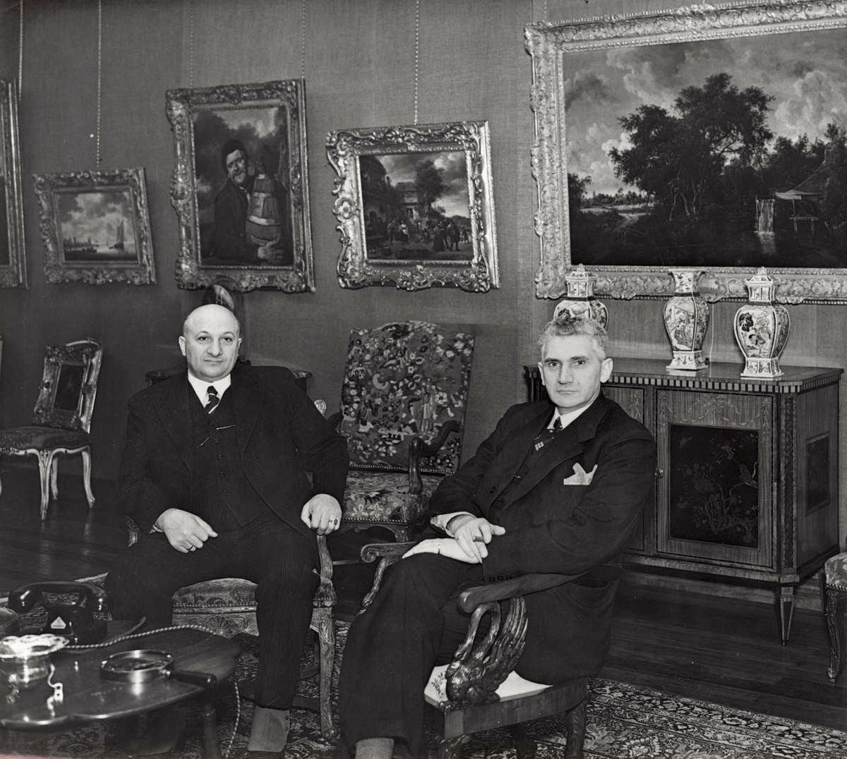 Benjamin & Nathan Katz - Firma D Katz Art Gallery 1936
