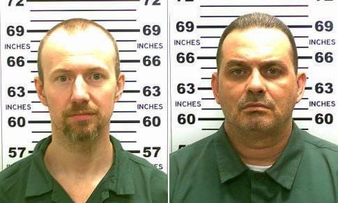 Official: 1 escaped murderer fatally shot, other is on run