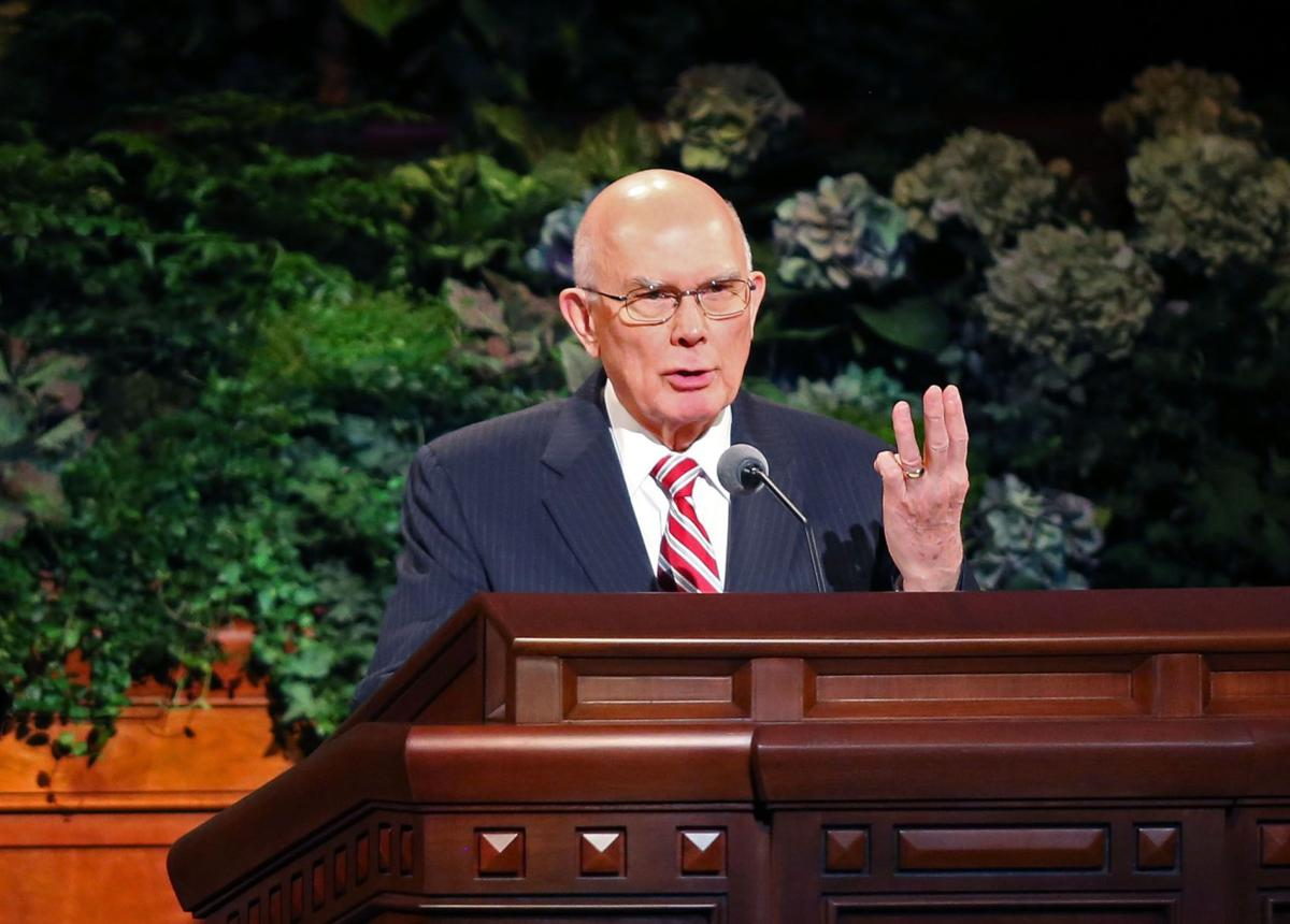 Mormon leader defends stance vs. same-sex unions