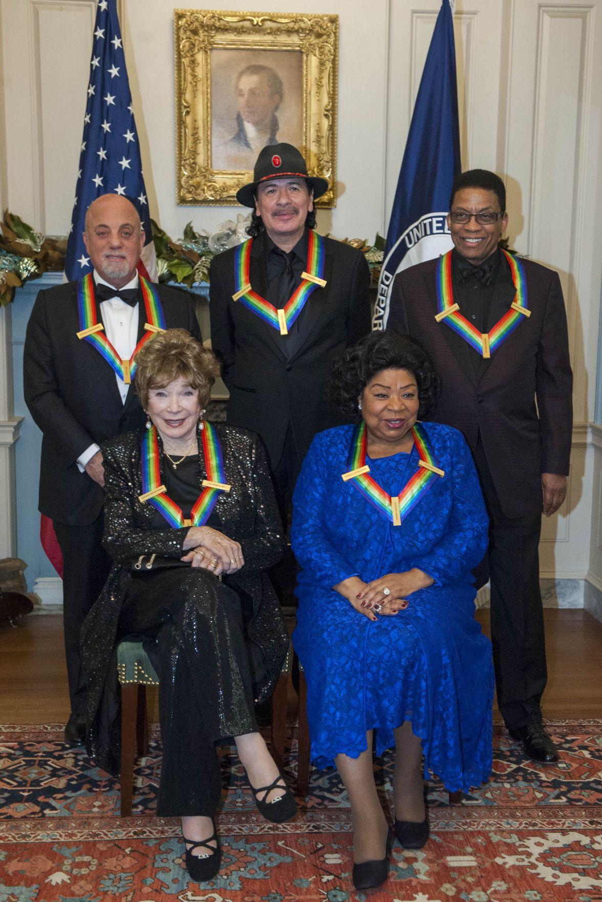 Billy Joel, Carlos Santana, Herbie Hancock and Shirley MacLaine among Kennedy Center Honors recipients