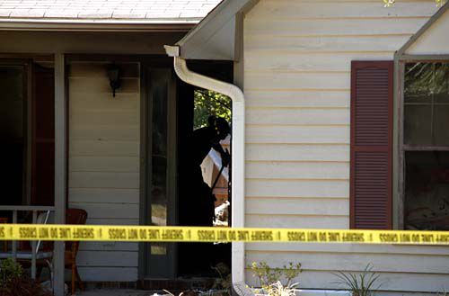 Suspicious house fire investigated
