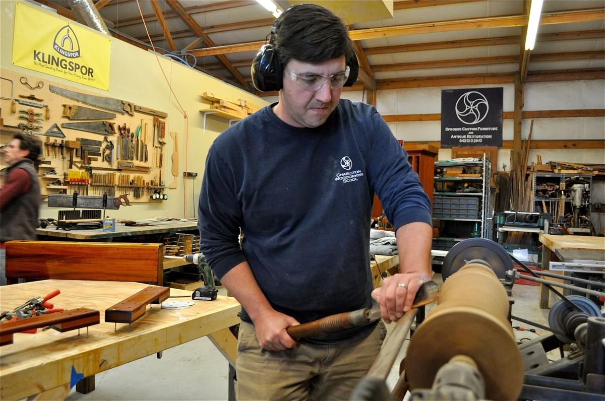 Sam Sprouse, founder of Charleston Woodworking School