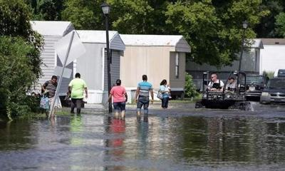 Red Cross helping Dorchester Road residents after flooding (copy)