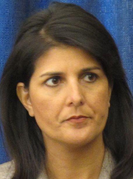 Nikki Haley speaks at ground breaking for Texas park honoring Mahatma Ghandi