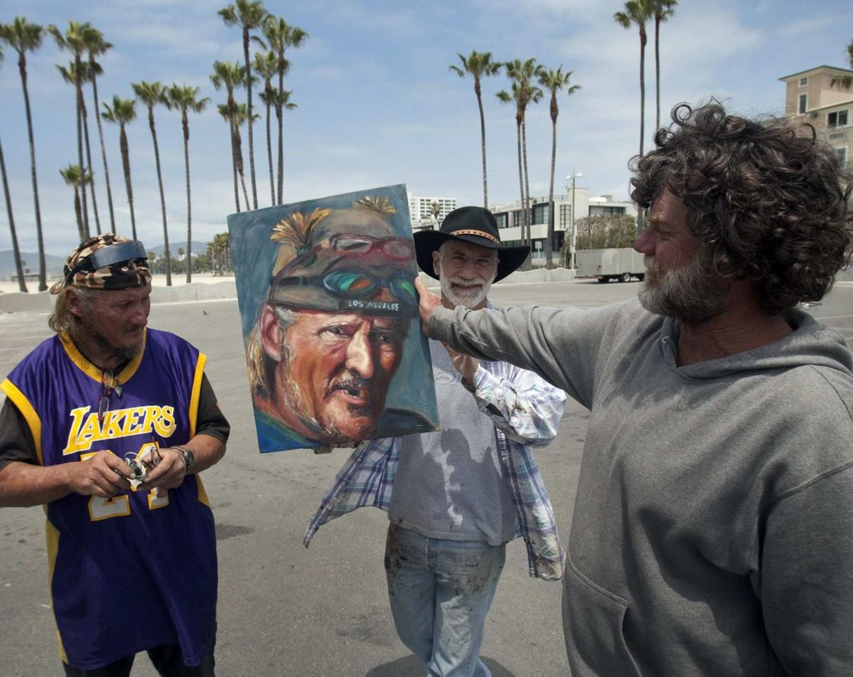Painting the forgotten souls Portraits of homeless has affected artist, subjects