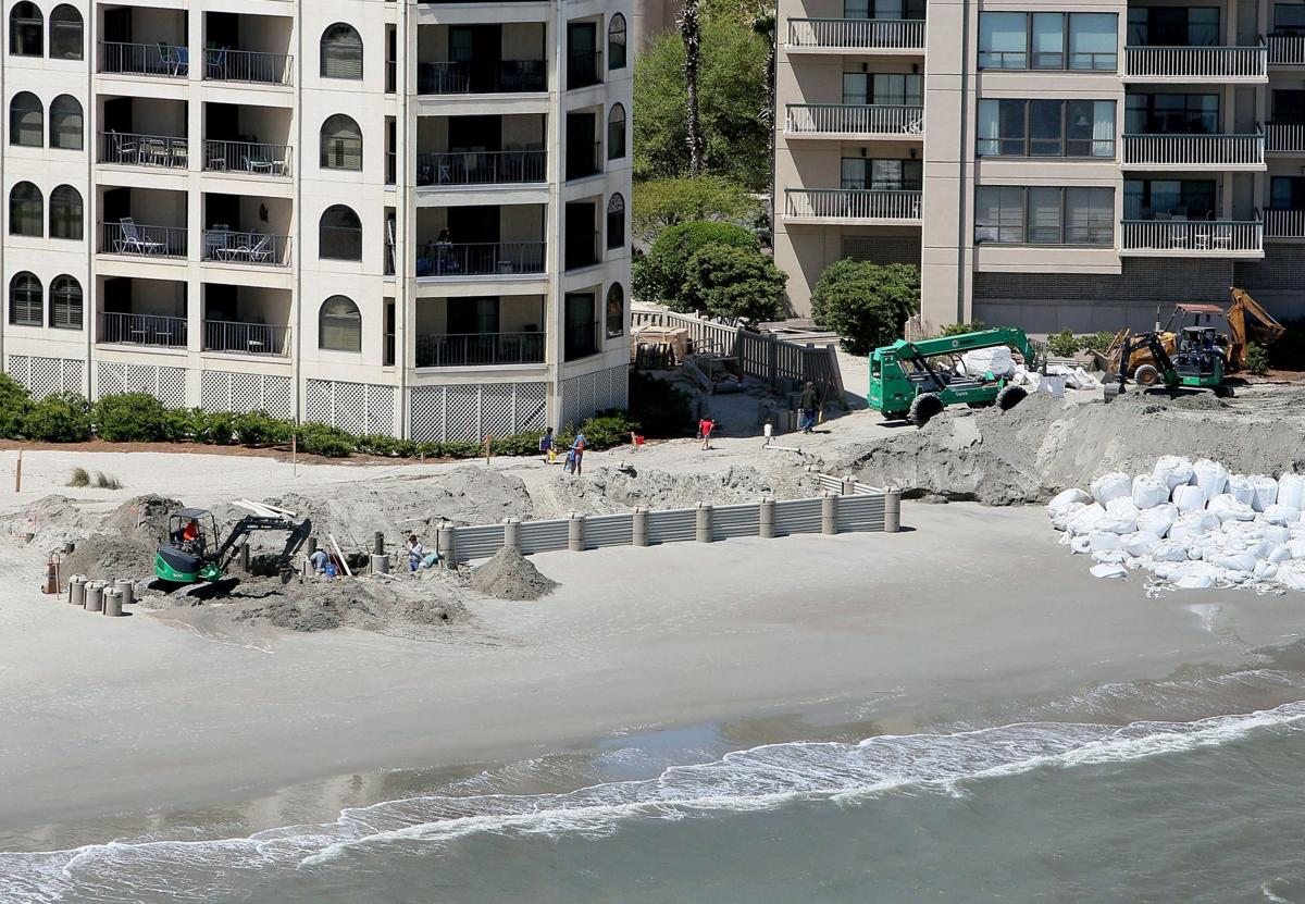 Running into the wall; beach barriers made easier by proposed state law?