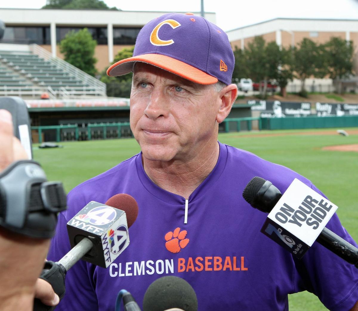 Clemson's Leggett optimistic, but pressure is on baseball coach