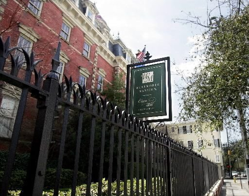Charleston's Wentworth Mansion ranked No. 1 small city hotel in continental US