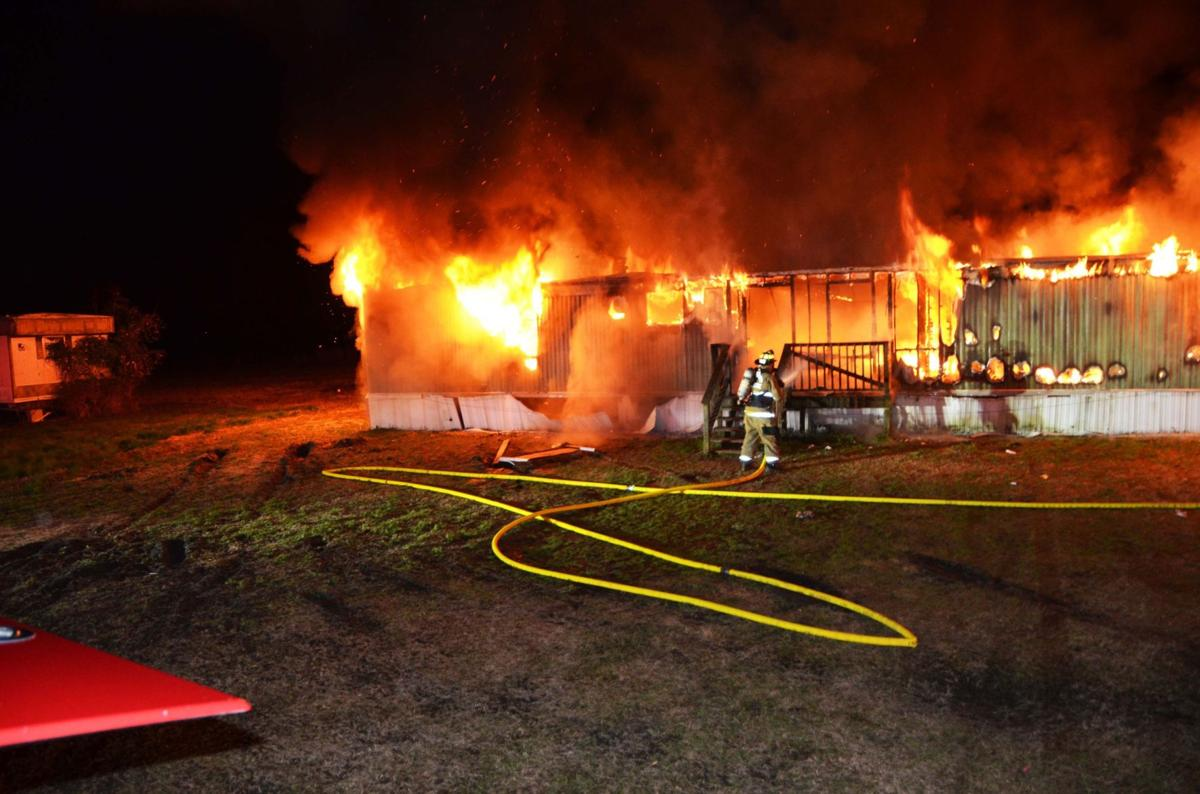 Family of seven displaced by blaze in Colleton County