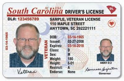south carolina drivers license new