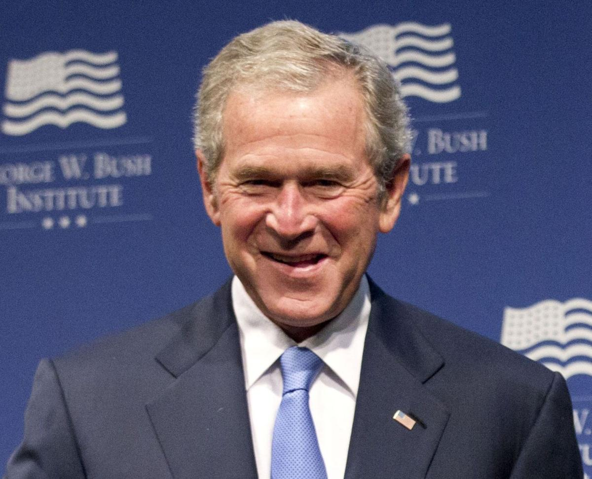 George W. Bush backs Romney