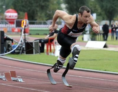 Amputee to run at Olympics