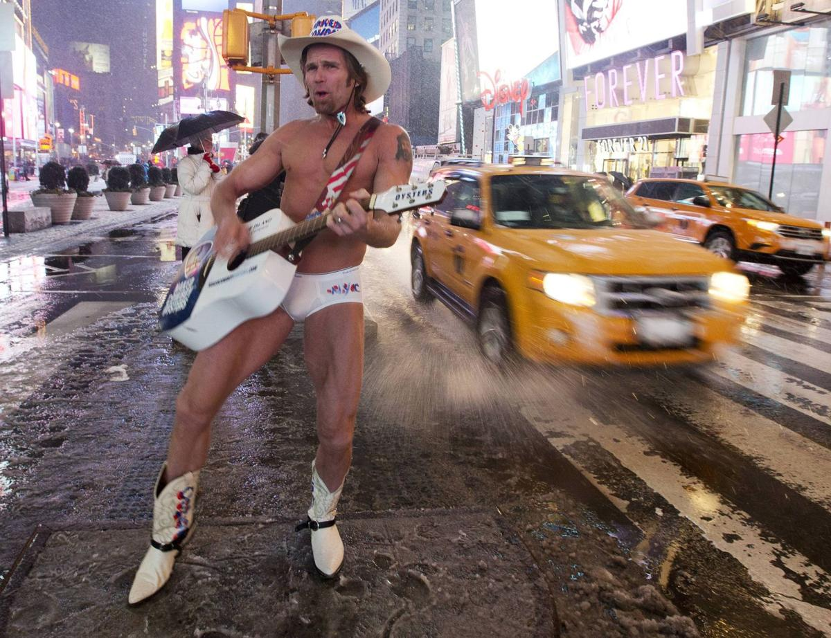 Fruit of the Loom puts Naked Cowboy in new undies