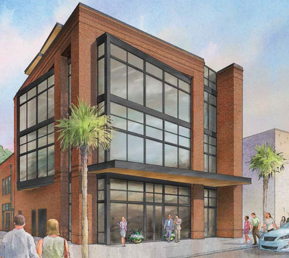 New Three-story Retail/office Building Opening In Downtown