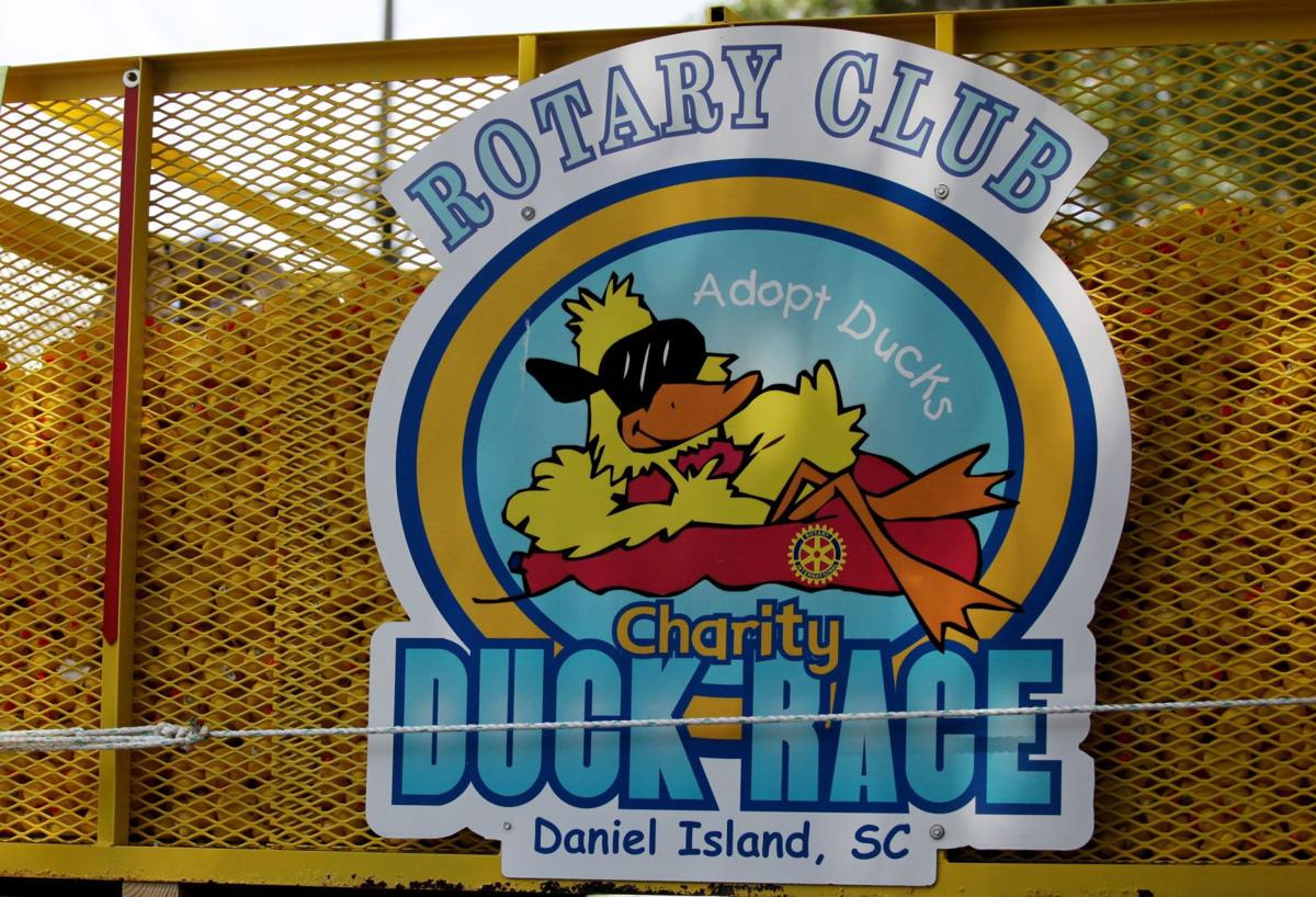 Annual Rotary Charity Duck Race