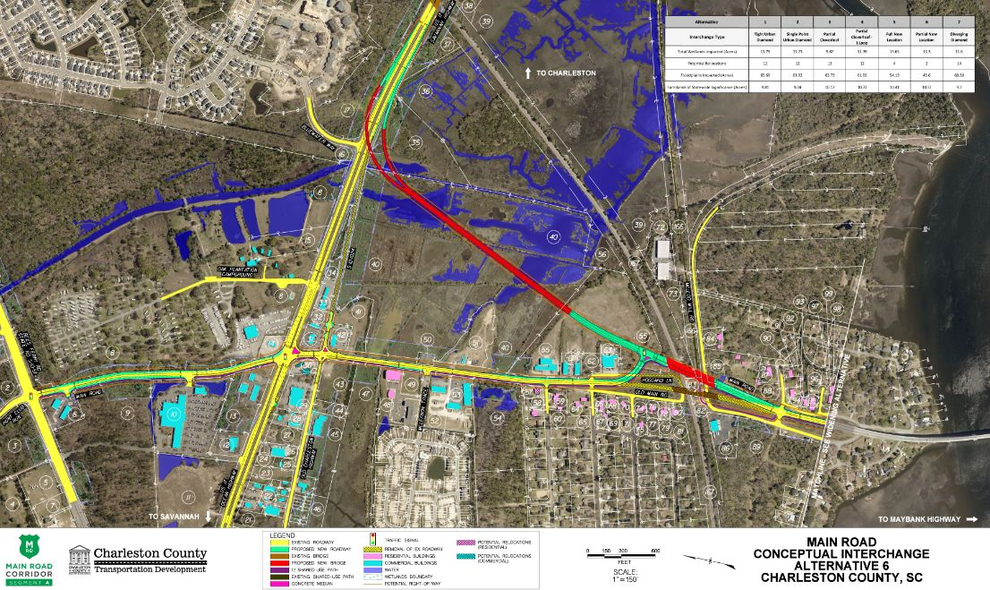 Charleston County lays out plans to improve traffic at Main ... on charleston county sc map, charleston county tax bill, charleston west virginia county map, charleston county zoning map, charleston gis, charleston county property map, charleston sc visitors map,