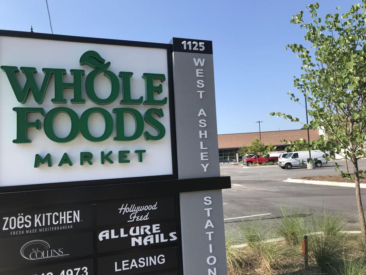 Whole Foods West Ashley sign