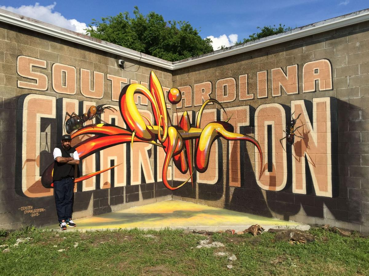 Society 1858, Gibbes Museum welcomes muralist Odeith | Features ...