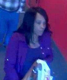 Police looking for woman accused of stealing wallet, using credit cards