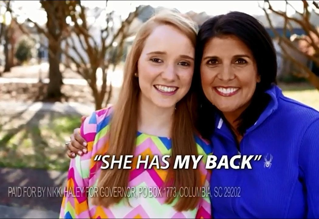 Haley touts anti-bullying tour in latest campaign ad