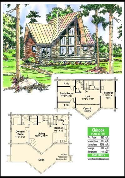 This week's house plan Chinook 30-011