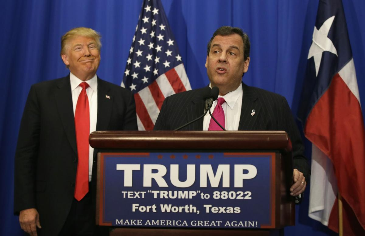 Chis Christie endorses Donald Trump for president