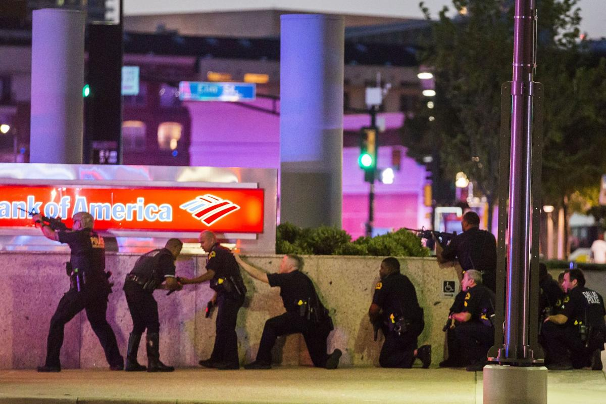 Dallas police chief: 11 officers shot at protest; 4 dead