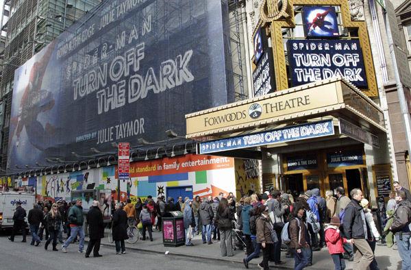 'Spider-Man' sets Broadway record