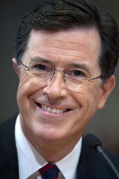 POLITICS: Colbert's Super PAC has raised over $1 million