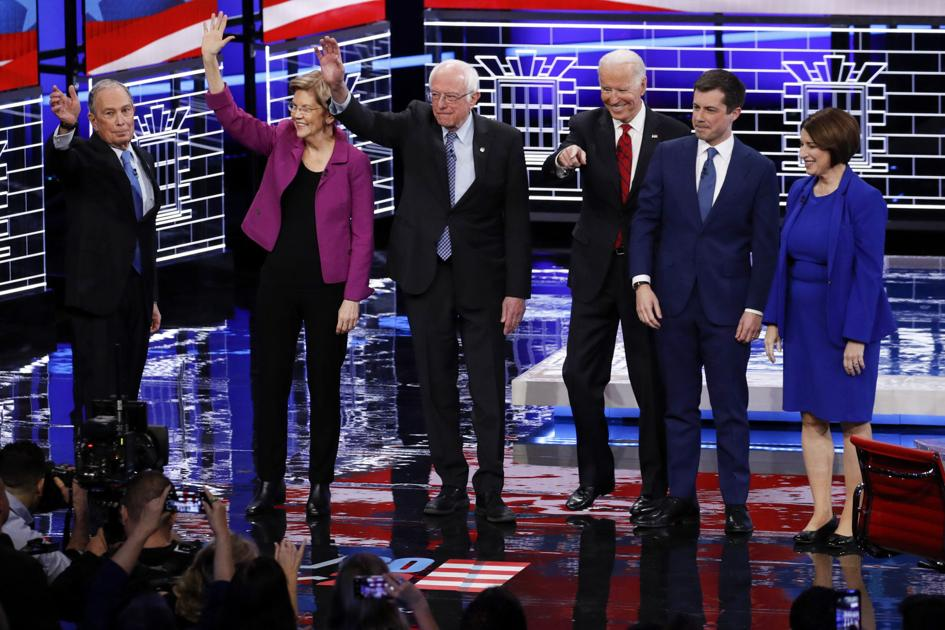 After fiery Vegas act, 2020 candidates debating in...