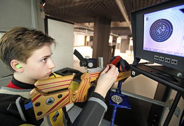 Citadel rifle team targets perfection at $3.2 million shooting range