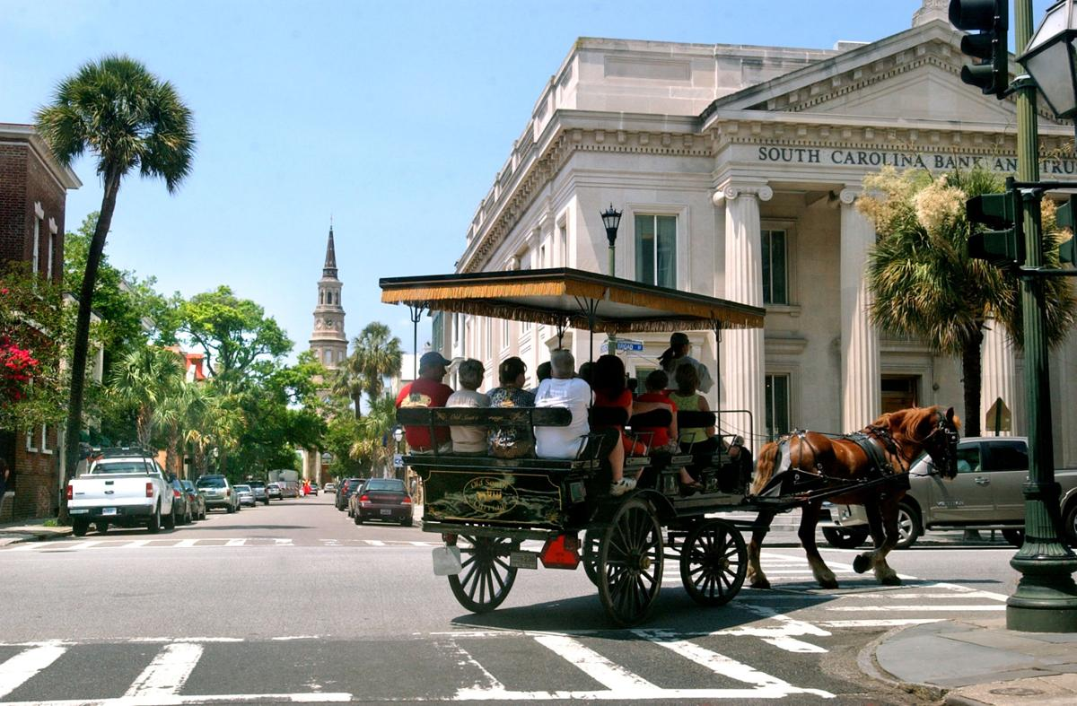 Charleston Named No US Tourist Destination For Fourth Year - Map of us cities with charleston