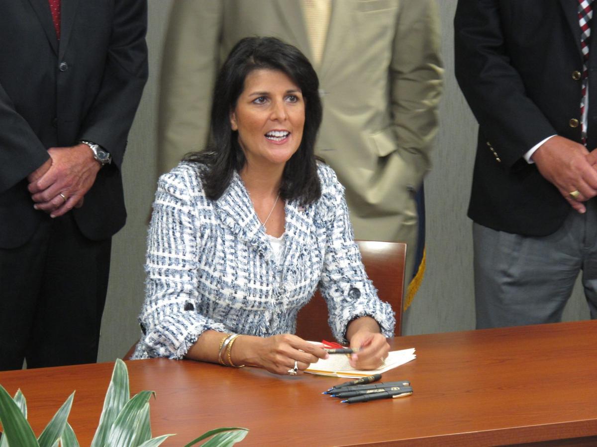 Lawmakers override 46 of Haley's 81 vetoes