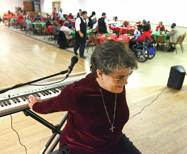 Theft can't deter blind musician