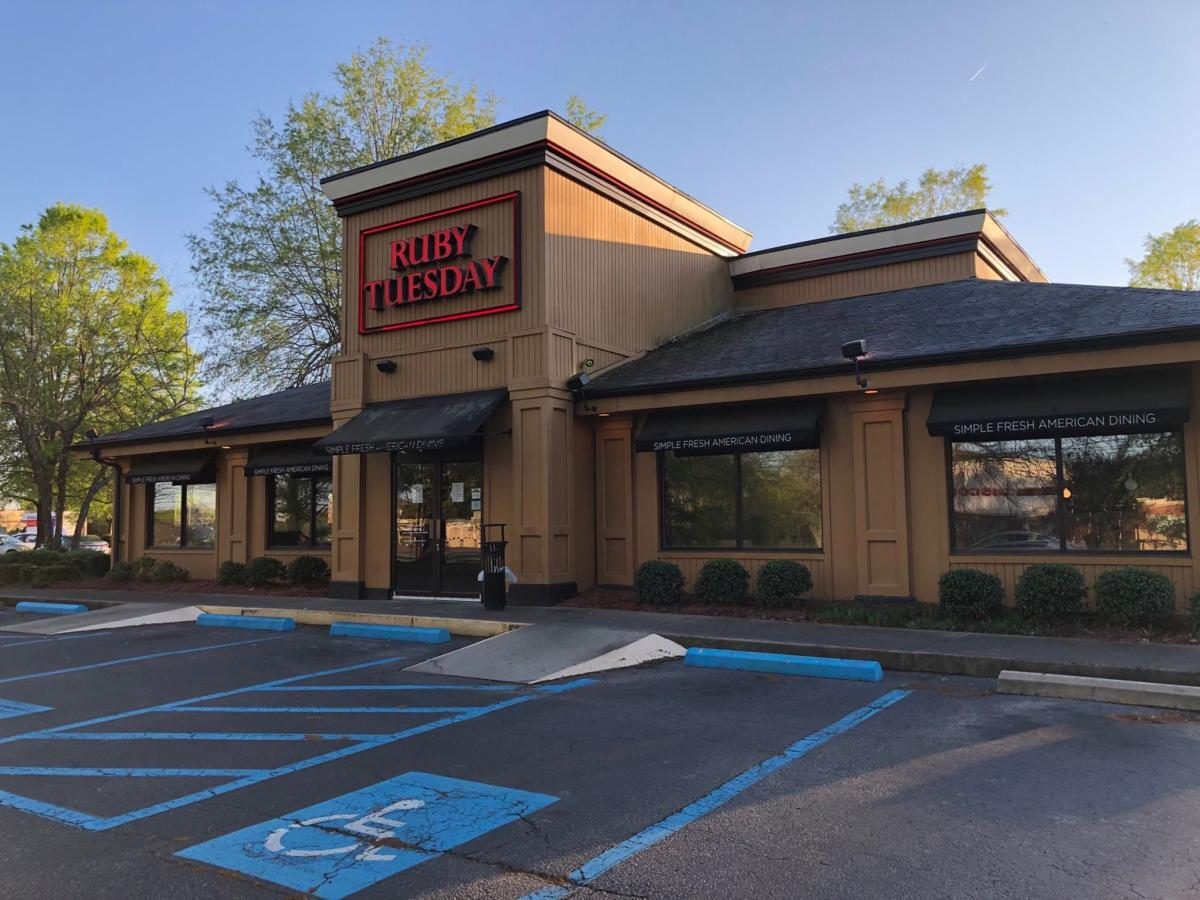 Ruby Tuesday closes on Aiken's Southside 1
