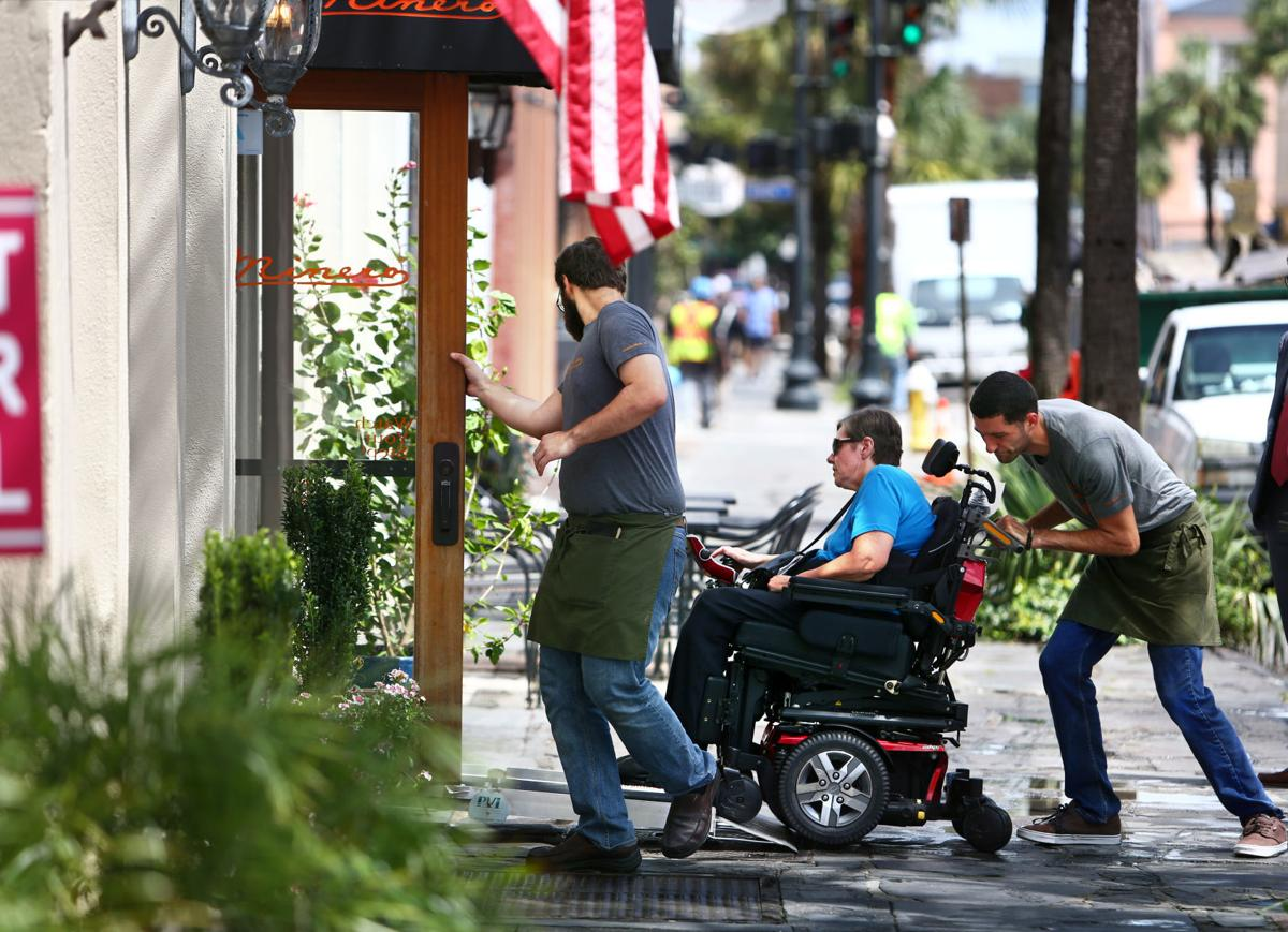 We dined with wheelchair users at 4 of Charleston's top lunch spots. Here's what they experienced.