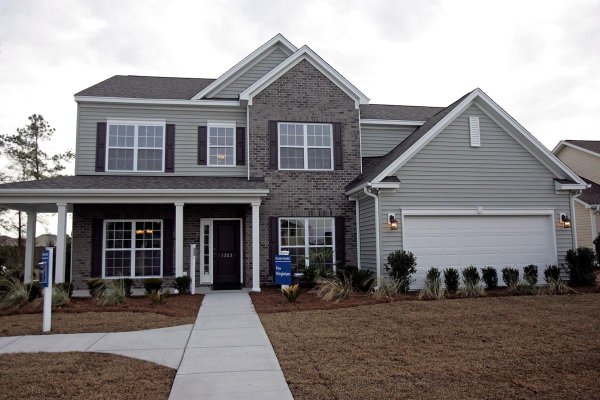 Good-sized homes sprout at new Ryland neighborhood off Hanahan's flourishing Foster Creek Road