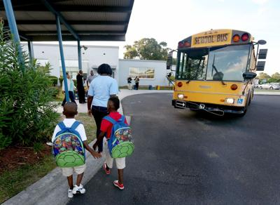 Back to School at Mary Ford Elementary (copy)