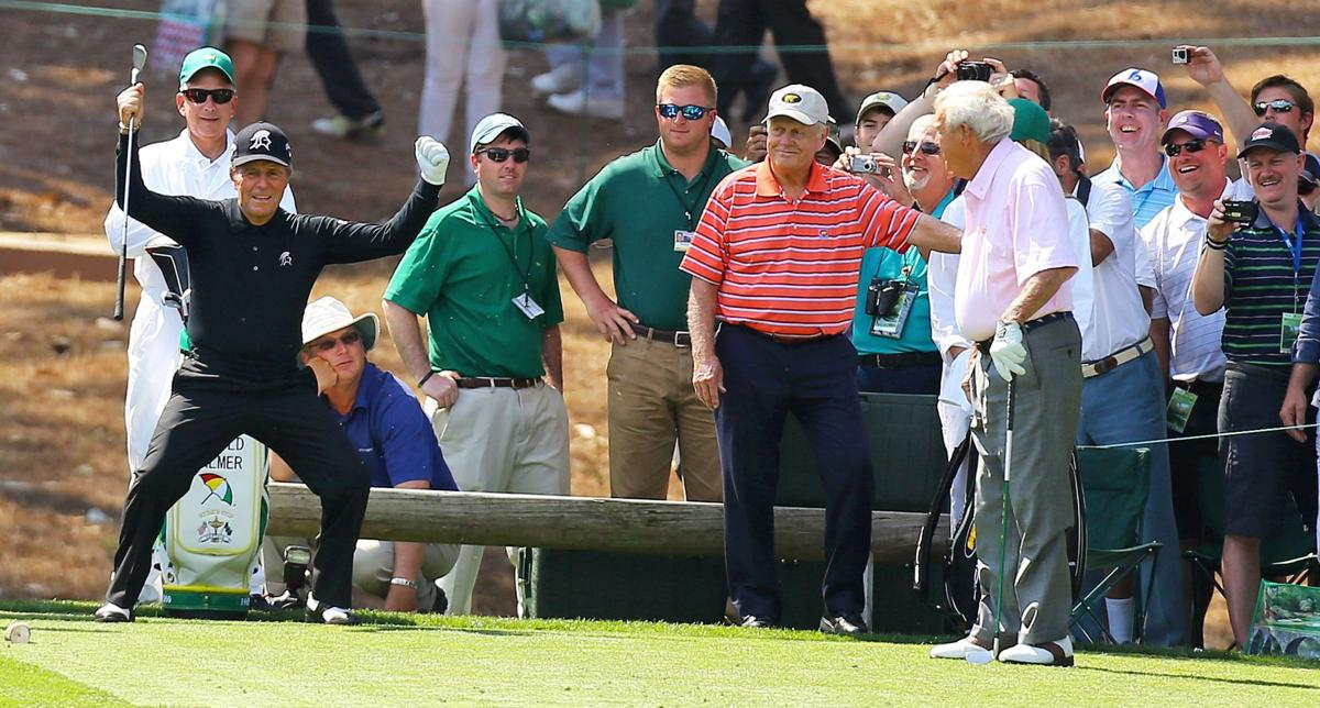 Sapakoff: Hanging out at the Masters with Arnie, Jack and Gary