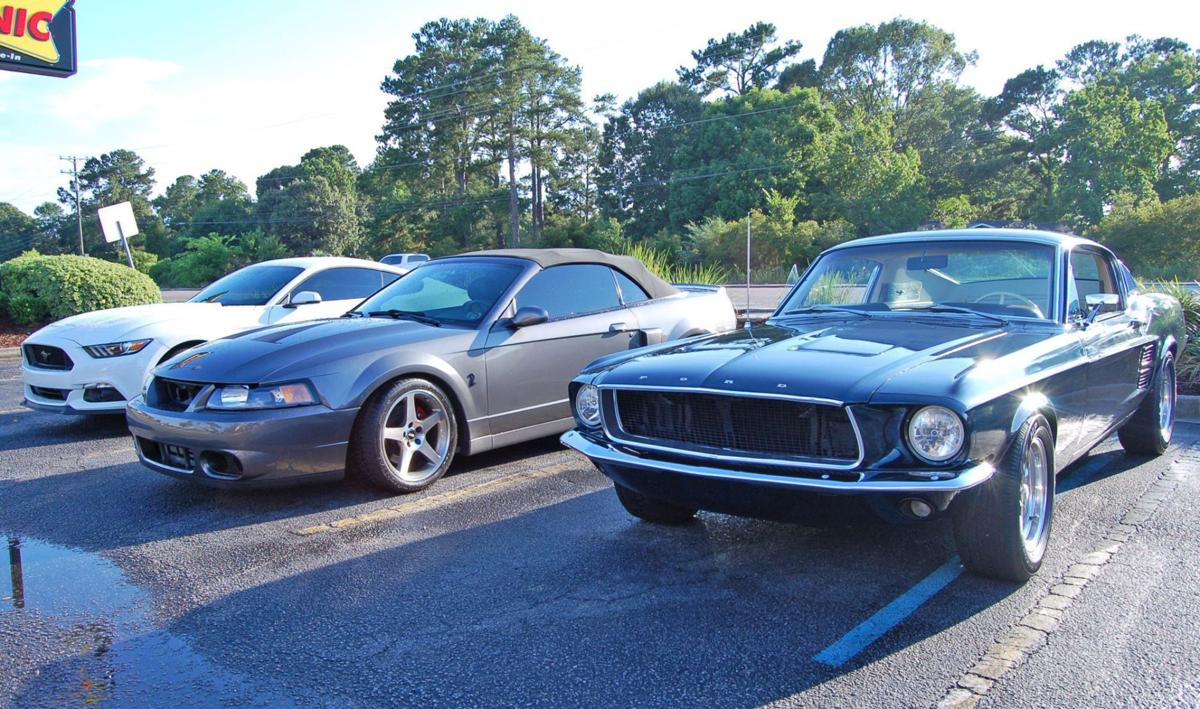 Car buffs show models, dine out at Lowcountry Muscle Car cruise-in