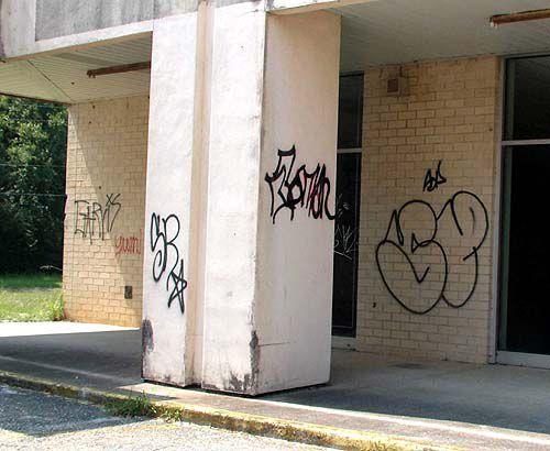 Lingering graffiti irks police, residents